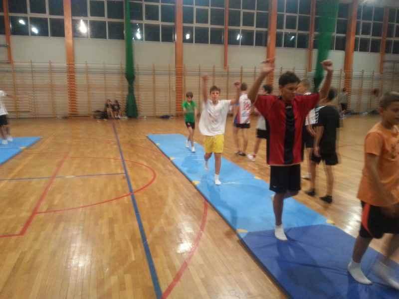 trening na boisku