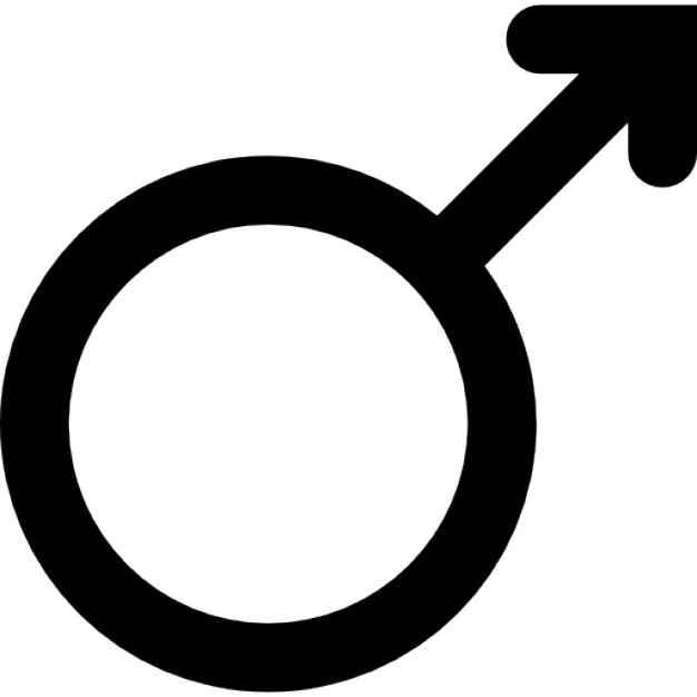 symbo płci męskiej