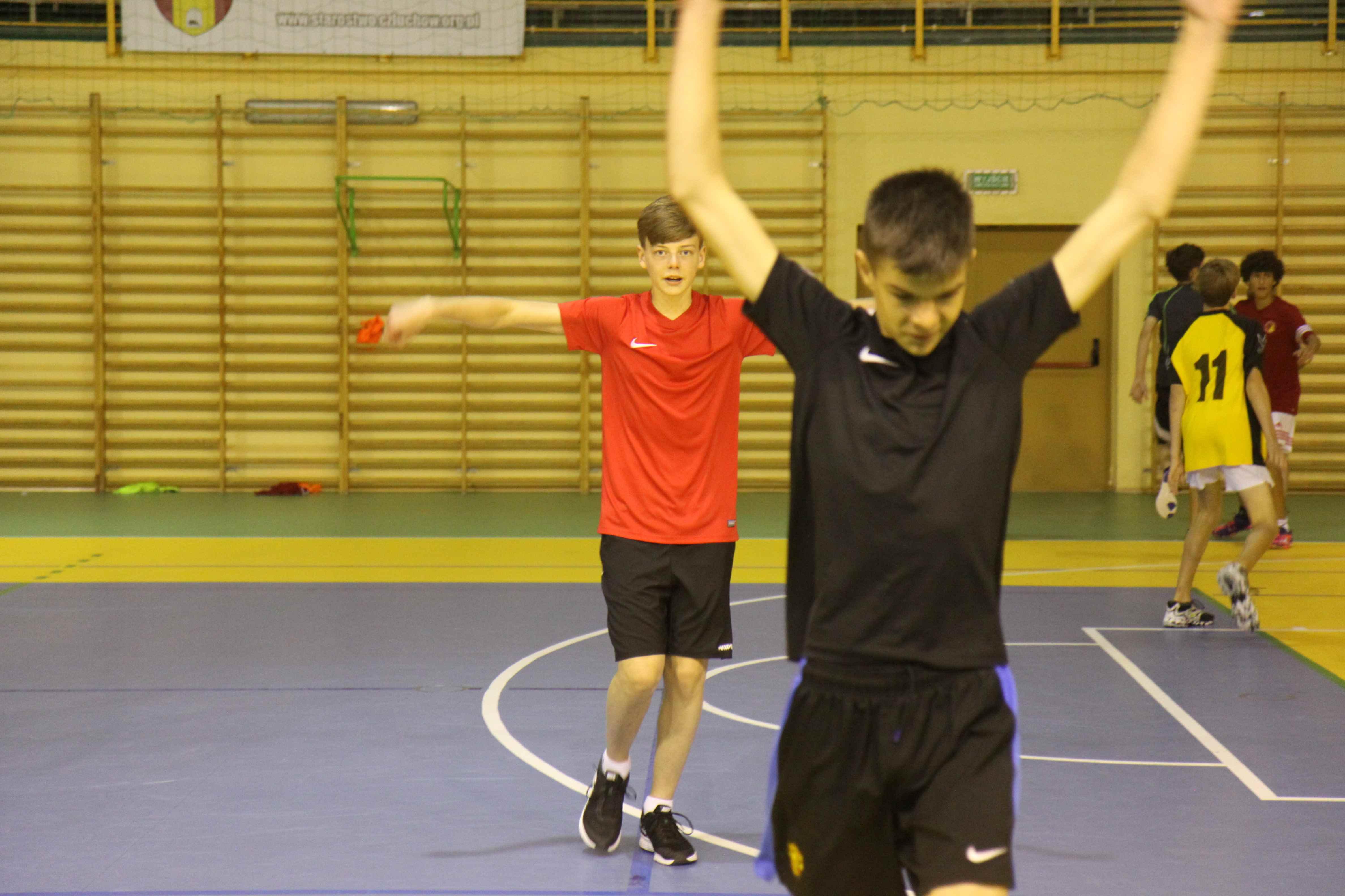 trening piłki ręcznej dla chłopców