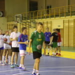 trenowanie rzutów piłką