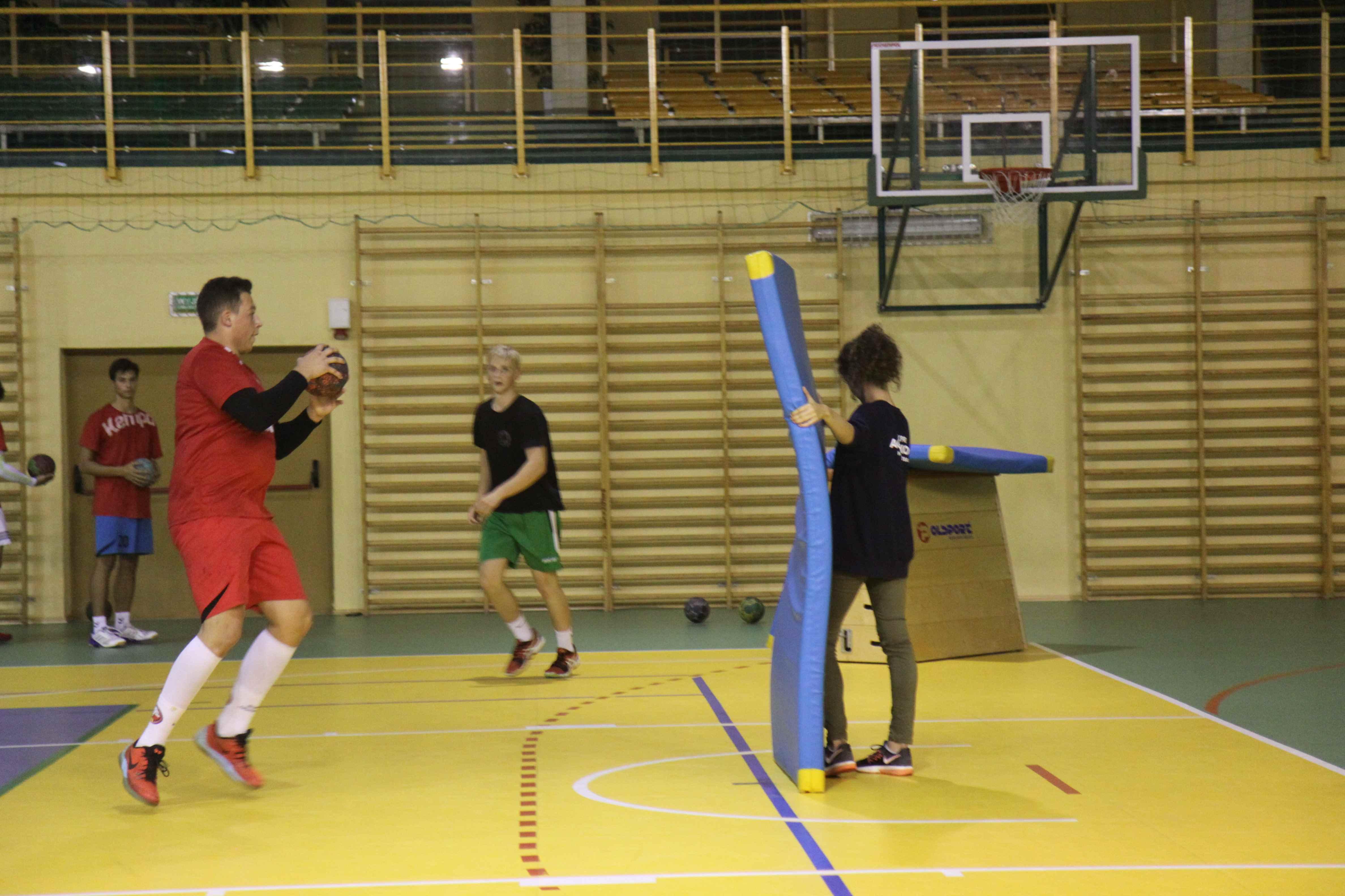 specjalistyczny trening piłki ręcznej