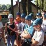 obóz sportowy i zajęcia w lesie
