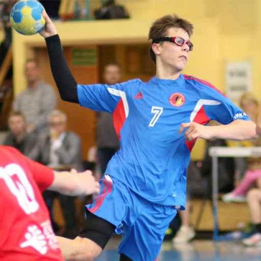 zawodnik piłki ręcznej