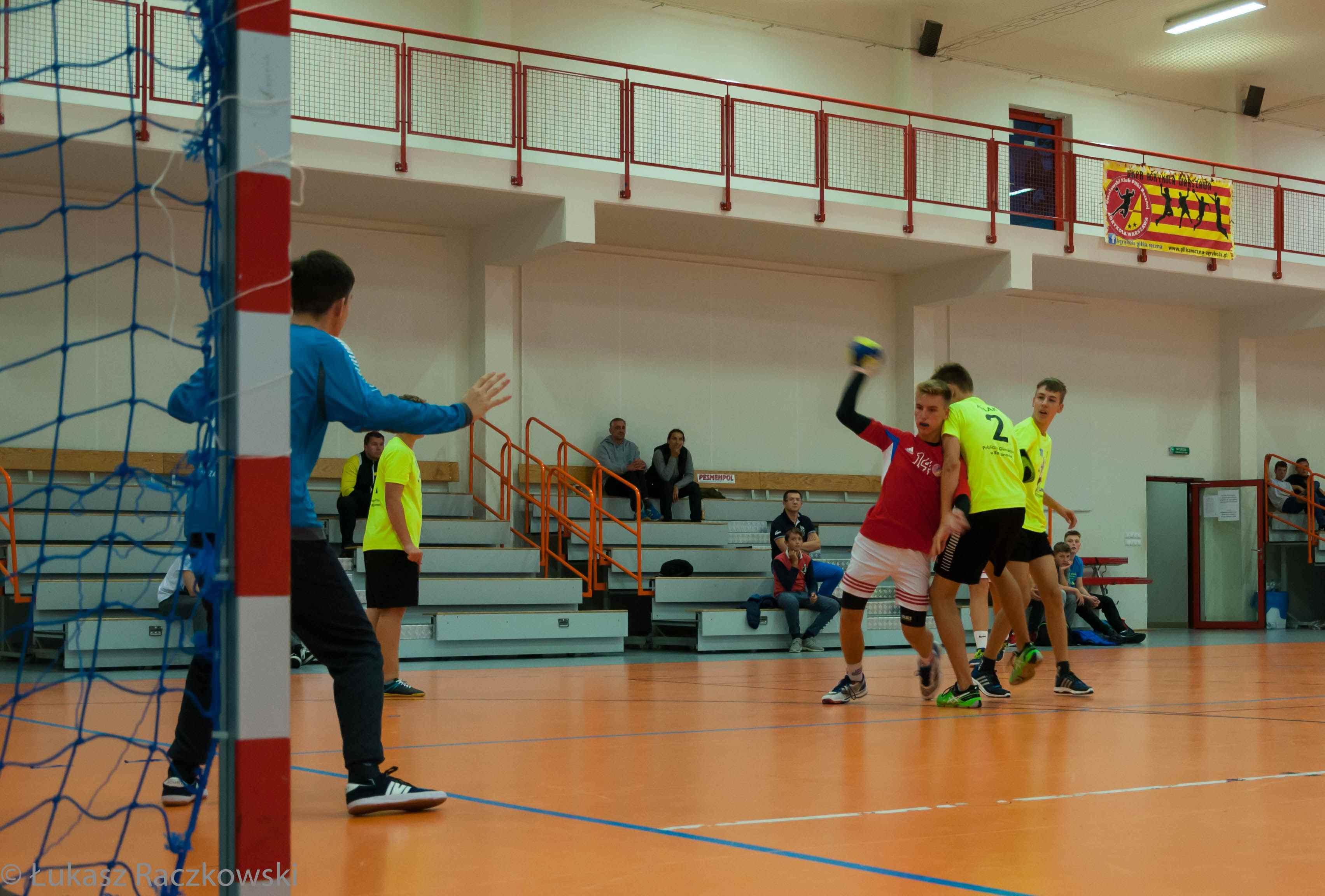 trening piłki ręcznej dla dzieci warszawa